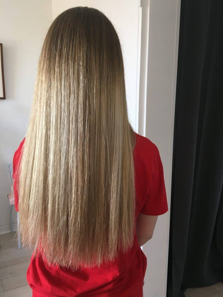 coiffure femme balayage blond