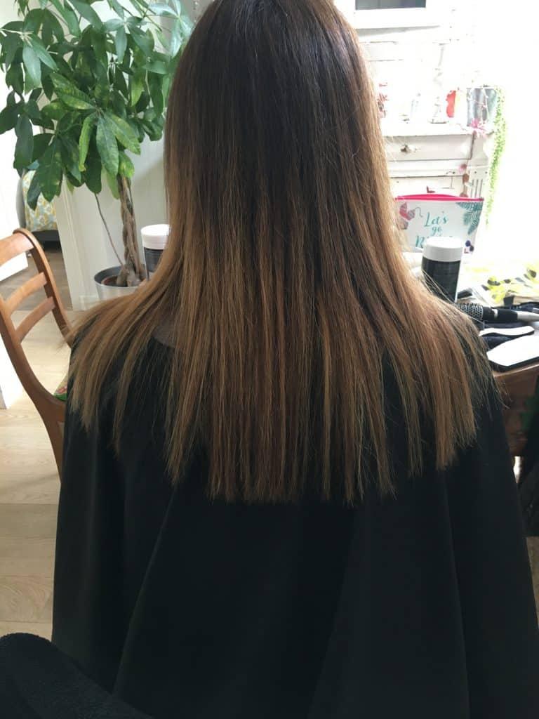 coiffure de femme balayage châtain