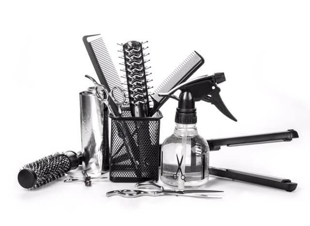Photo accessoires pour coiffeur