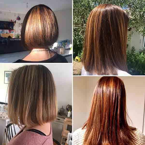 coiffure coloration balayage patine